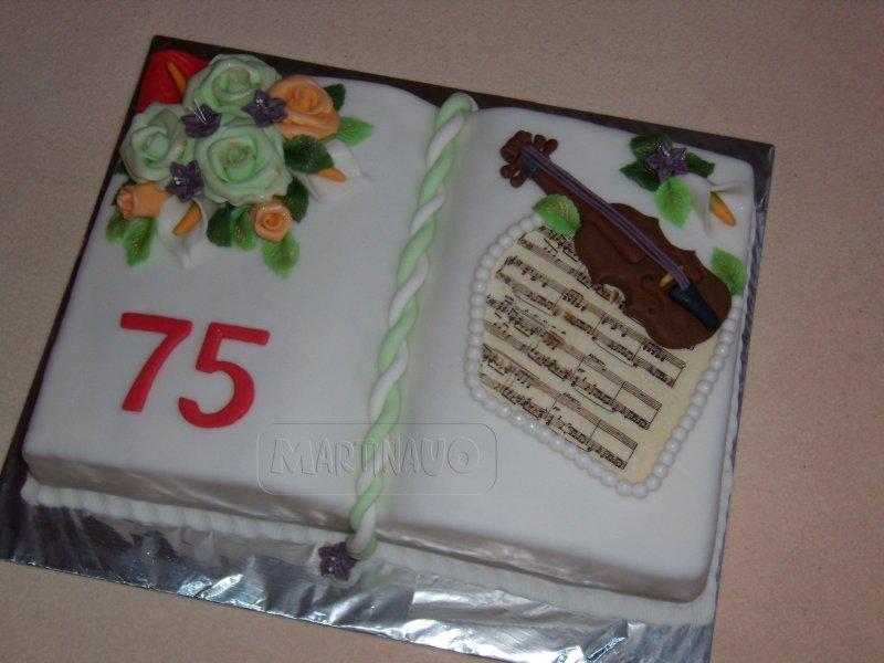 Kniha s houslemi