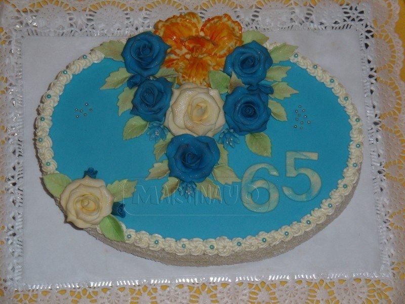 Modrý ovál, váha 3,10 kg
