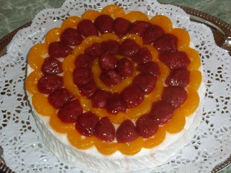 Ovocný jahodový s mandarinkami